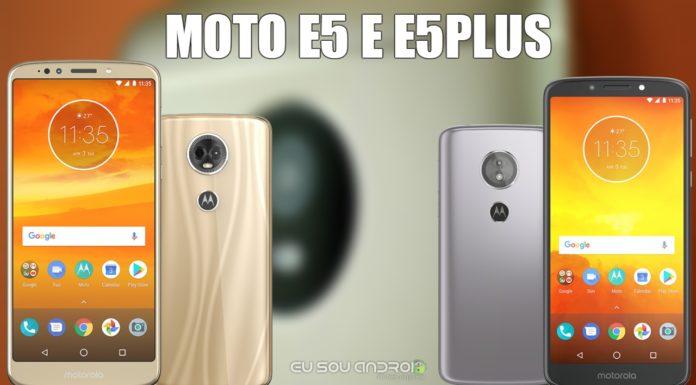 Vazam Novas Imagens do Moto E5 e E5 Plus