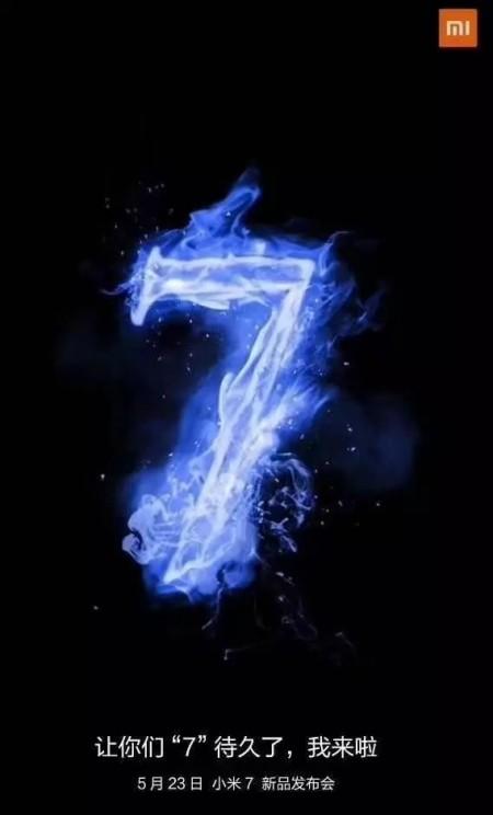 Mi 7 poderá vir em 23 de maio