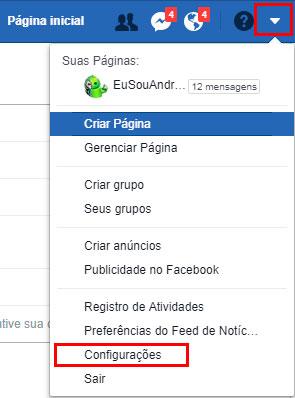 dados-do-facebook-configuração