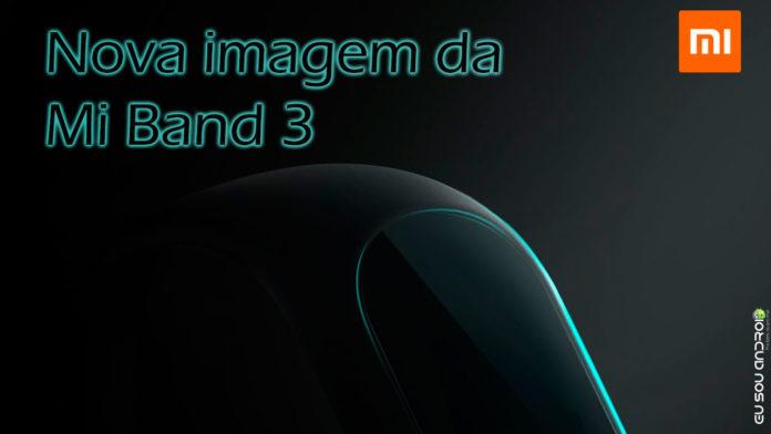Imagem da Mi Band 3 eu sou android