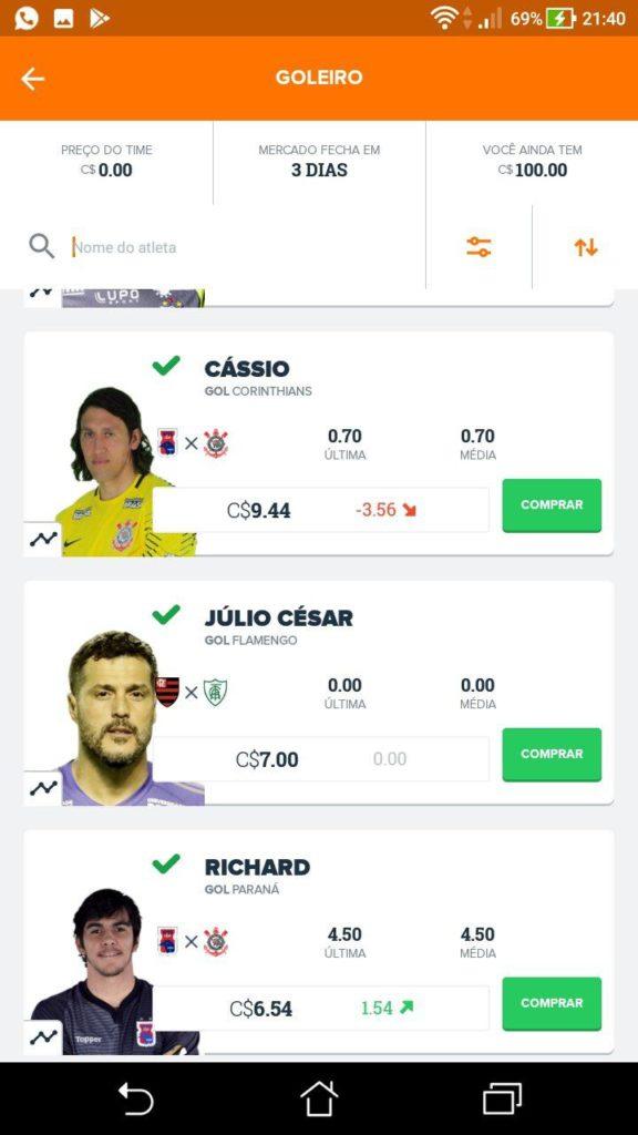 CartolaFC 2018
