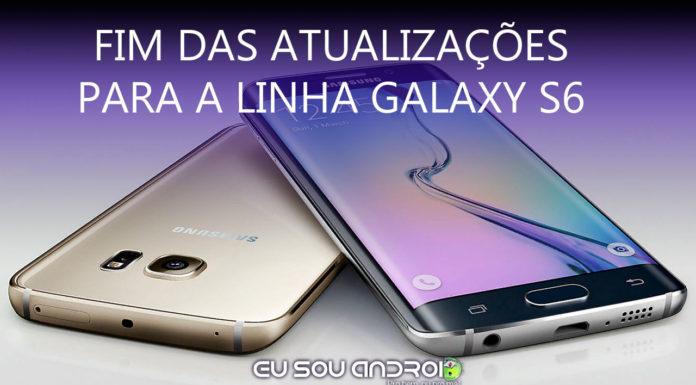 Samsung ENCERRA SUPORTE Para a Linha Galaxy S6