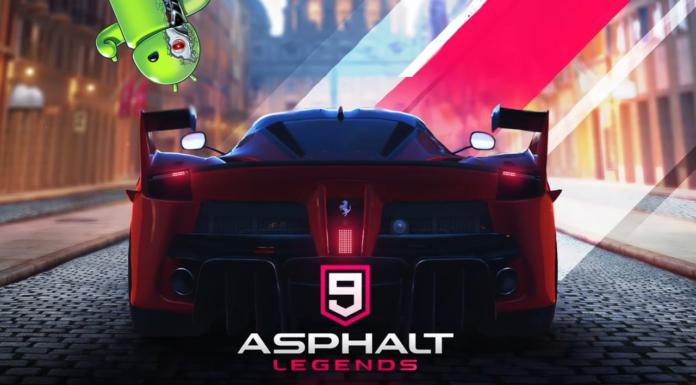 Asphalt 9 chegou para Android