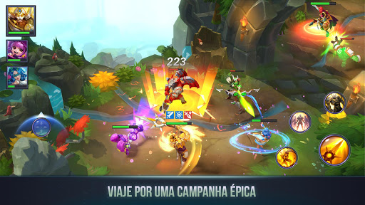 Dungeon Hunter Campeões: RPG de Ação On-line Épico