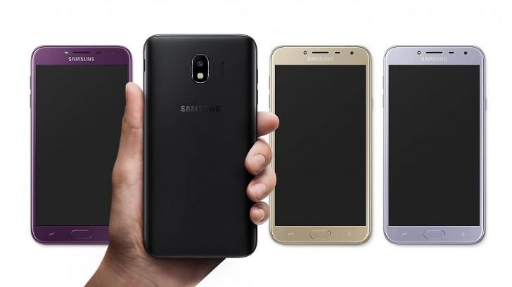 Galaxy J6 e J4