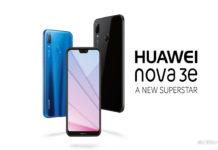 Huawei Nova 3e Chegando em 25 de maio na Malásia