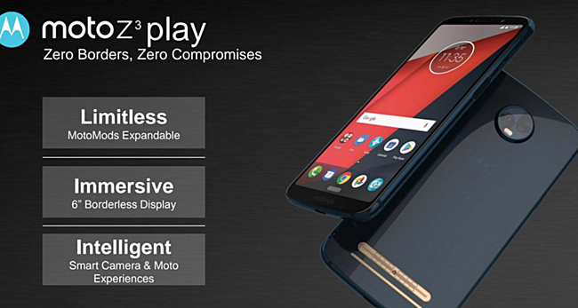Moto Z3 Play está chegando