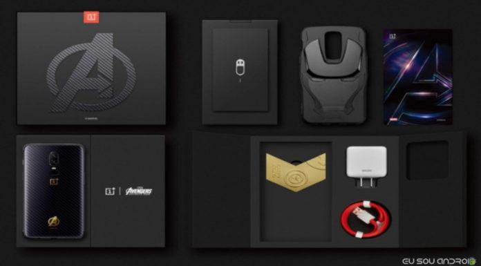 OnePlus 6 Avengers Infinity War Edition!