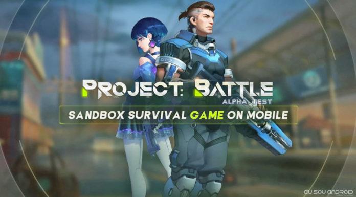 Project Battle é um Game Estilo Fortnite e Acaba de ser Lançado Para Android