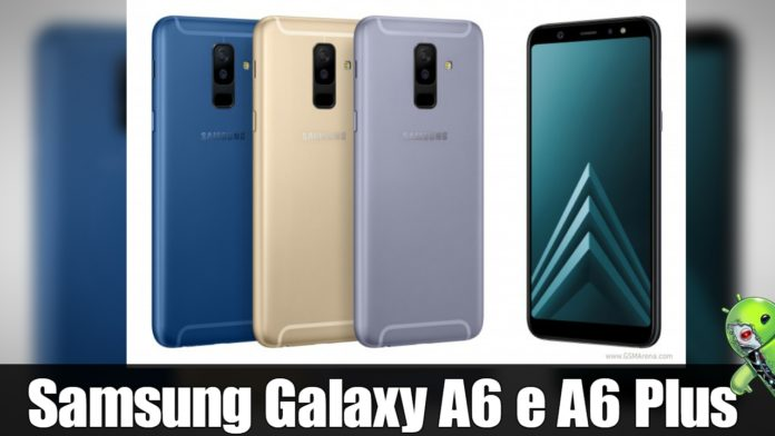 samsung galaxy a6 e a6 plus mais informa es novas. Black Bedroom Furniture Sets. Home Design Ideas