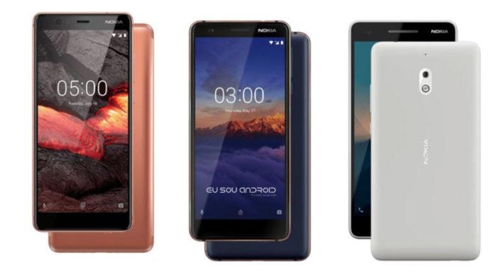 Três Novos Telefones