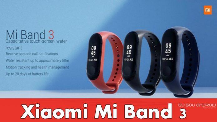 Xiaomi Mi Band 3 Chega com preço bastante Acessível