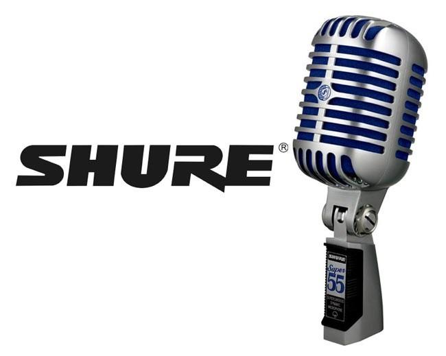 shure chegou ao mercado livre microfone