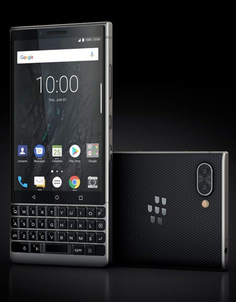 A BlackBerry Não Desistiu do Teclado Físico! Vazamento Revela Design do KEY2!2