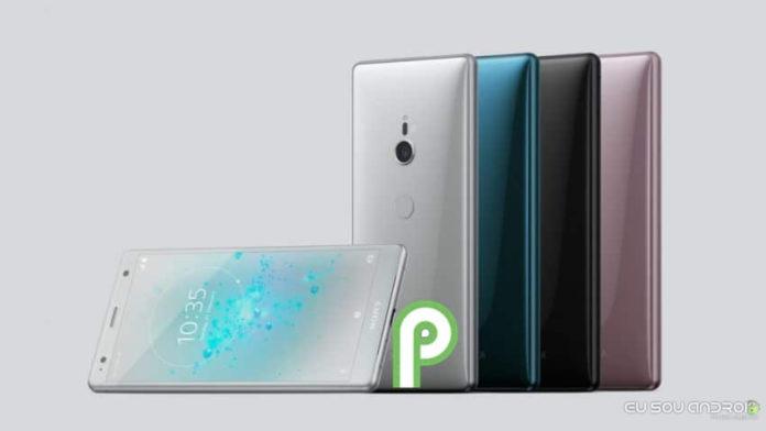 Sony lança o Android P beta 2 para o Xperia XZ2