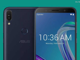 Asus Zenfone Max Pro M1 com 6GB de RAM e Câmera Selfie 16MP E visto no Flipkart