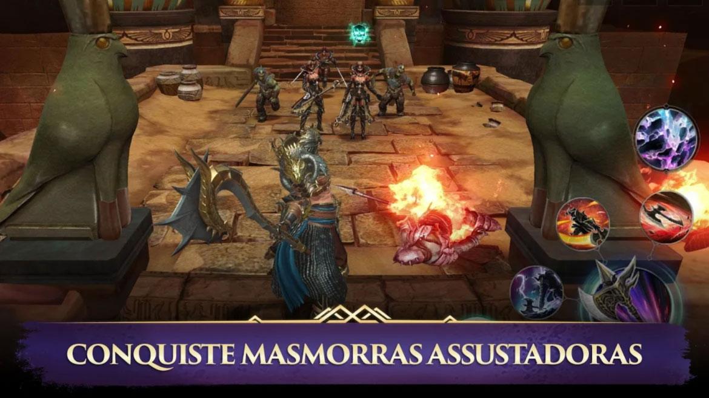 Darkness Rises Chega Para Android Com Gráficos de Videogame