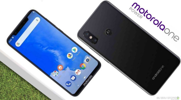 Especificações vazadas do Motorola One Power revelam tela Full HD de 6,2 polegadas