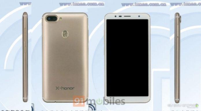 Honor V12 Aparece na TENAA e FCC