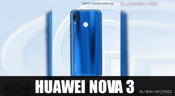 Huawei Nova 3 Aparece no TENAA e as Imagens São Bastantes Semelhantes ao P20 Lite