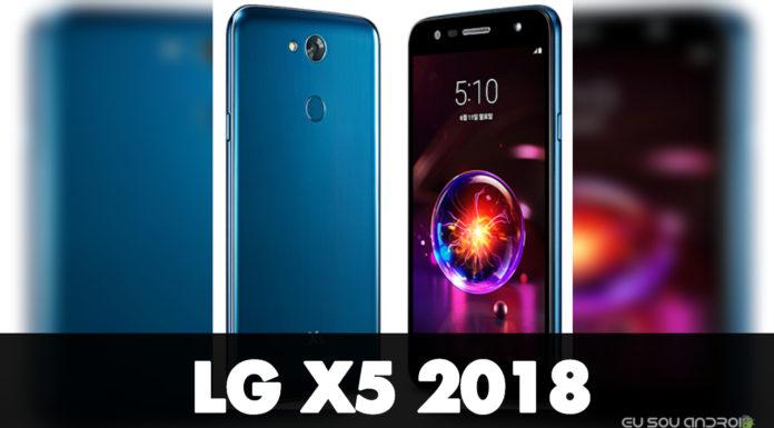 LG X5 2018 é Oficial com Bateria de 4.500mAh