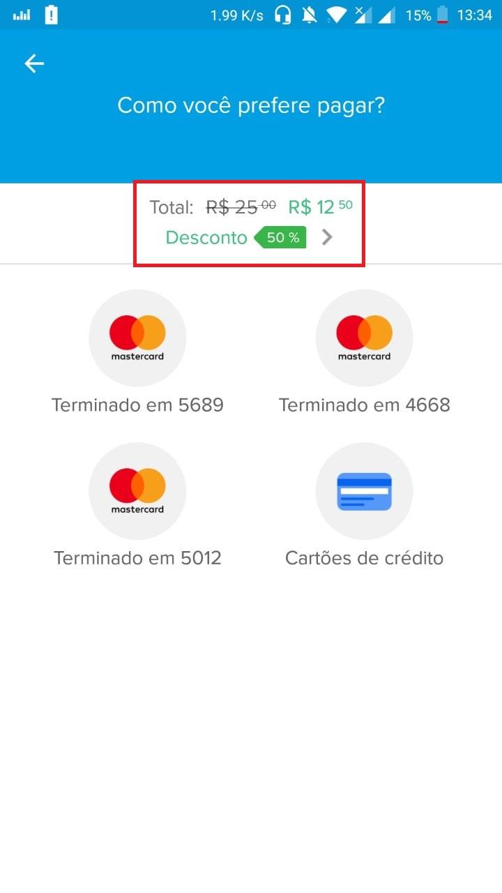 Mercado Pago com 50% de Desconto em Recargas
