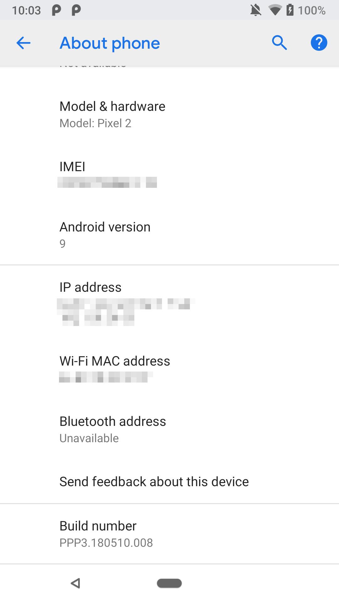 Nova Versão Preview do Android P Traz Diversas Novidades 3
