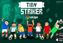 Tiny Striker La Liga 2018 Disponível para Android