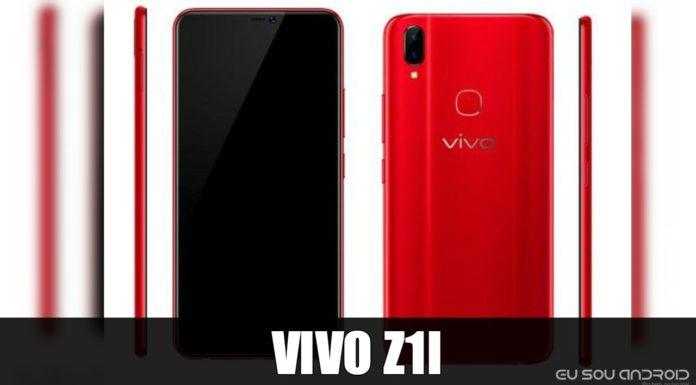 Vaza Principais especificações do vivo Z1i