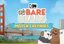 We Bare Bears Match3 Repairs Disponível para Android