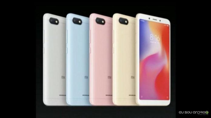 Xiaomi Redmi 6 e Redmi 6A São Anunciados