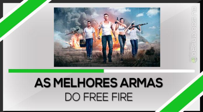 melhores armas do Free Fire