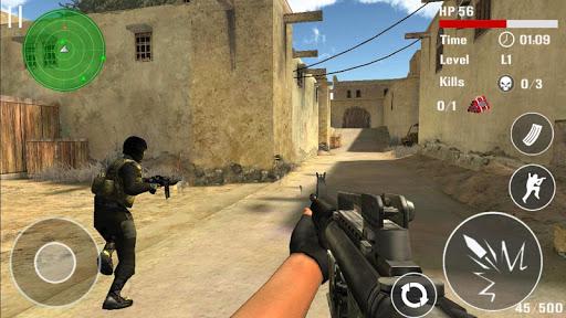 Ataque contra terroristas