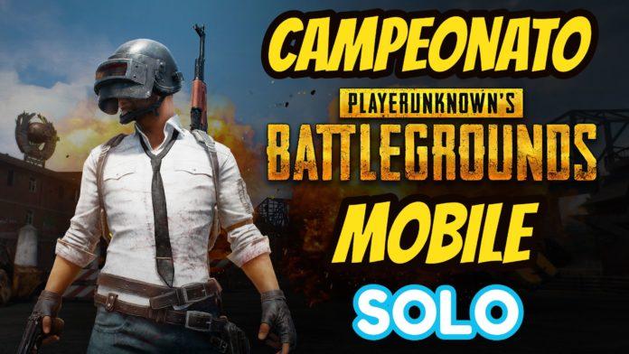 Campeonato PUBG MOBILE SOLO