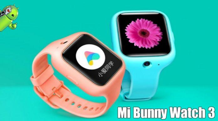 Conheça o Mi Bunny Watch 3 um smartwatch 4G Feito para crianças