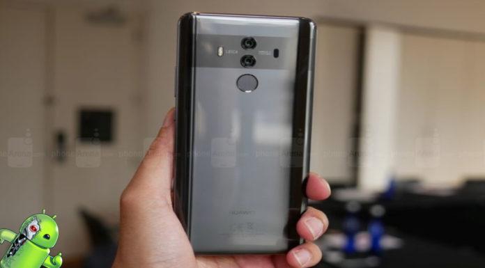 Folha de especificações do Huawei Mate 20 Pro e Imagens São Vazadas