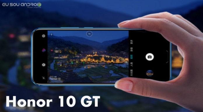 Honor 10 GT é Revelado com 8GB de RAM