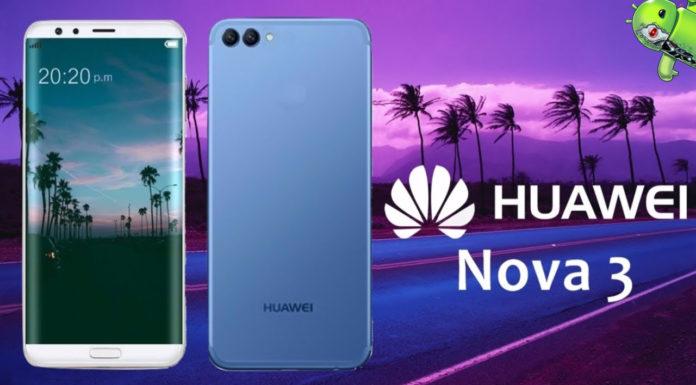 Huawei Nova 3 Poderá ser Lançado nas Filipinas em 28 de julho