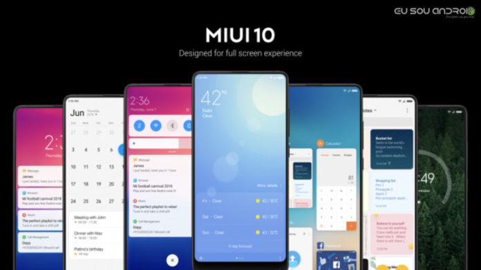 MIUI 10 Confirmado para 28 dispositivos da Xiaomi