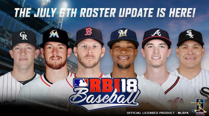R.B.I. Baseball 18 Disponível para Android
