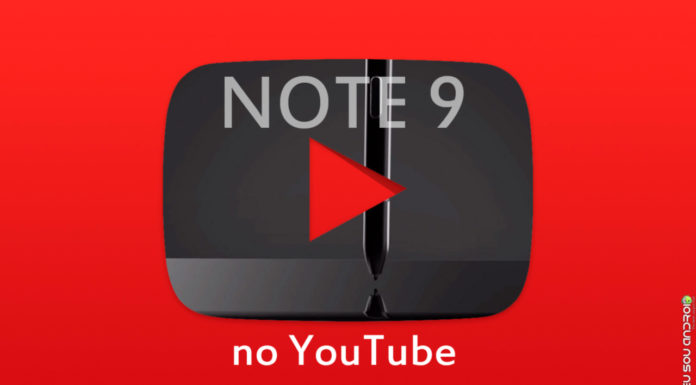 Samsung Revela Recursos do Note 9 em Vídeos no YouTube