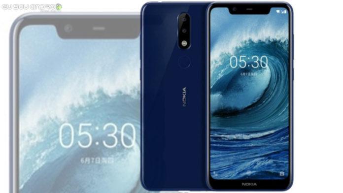 Vazadas Ás Primeiras imagens de imprensa do Nokia X5