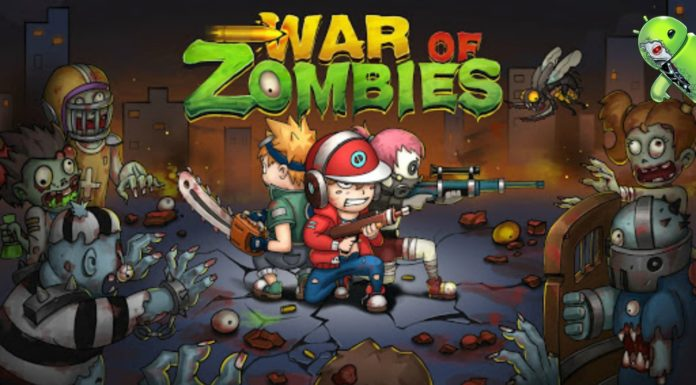 War of Zombies - Heroes Disponível para Android