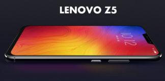 Lenovo Z5 lançado em Três variações de Cores
