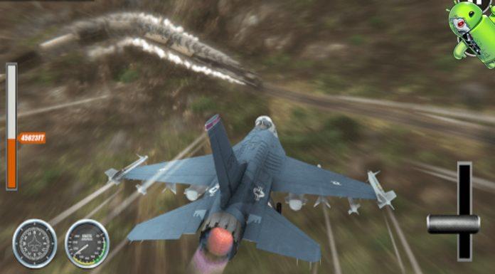 Avião Go Real Flight Simulation Disponível para Android