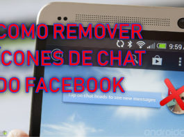 Como remover os ícones de chat do Facebook CAPA