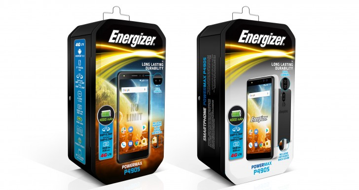 Energizer Power Max P490 e P490S