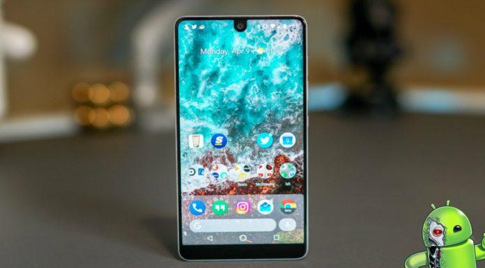 Essential Phone já está sendo atualizado para ter o Android 9 Pie