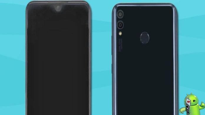 Fotos do Huawei Honor 8X mostram um pequeno entalhe em forma de V