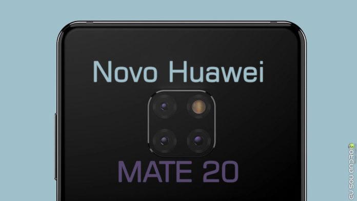 Huawei Mate 20 - O mais novo top de linha com câmera TRIPLA! capa